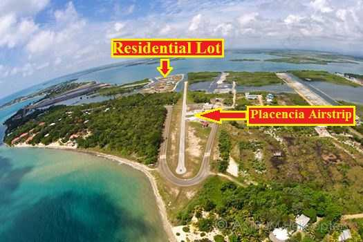 SC86: Residential Lot 60x75Ft on Crimson Park, Best Sunsets on Placencia Peninsula!