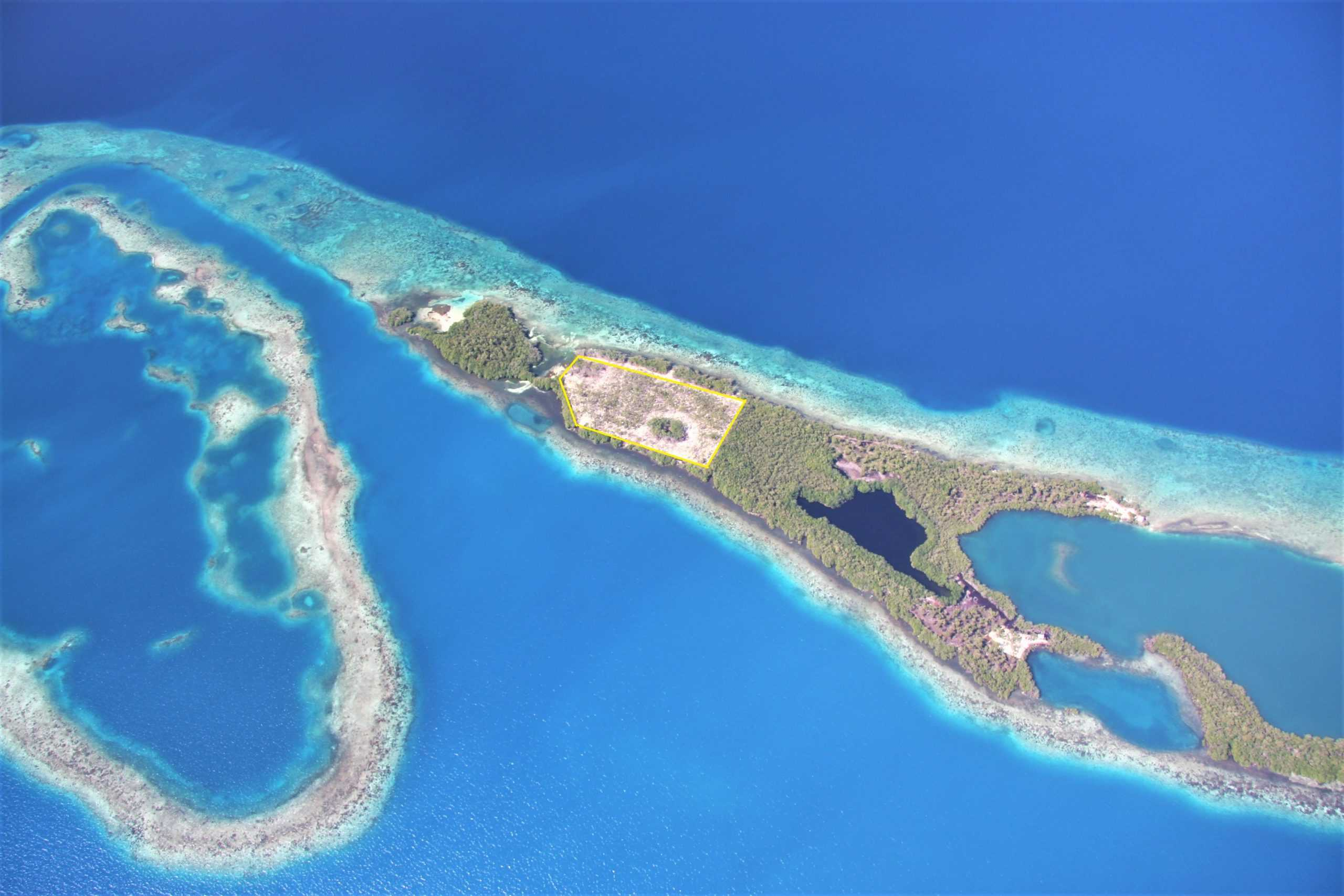 I15: 5.915 Acres Semi-Developed on Larger Island in Southern Belize! Buy a Piece of an Island in Belize!