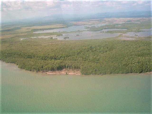 SC104: 24.76 Acres subdivided into 14 Lots with 2,042 Feet on Caribbean Sea! Colson Point Stann Creek