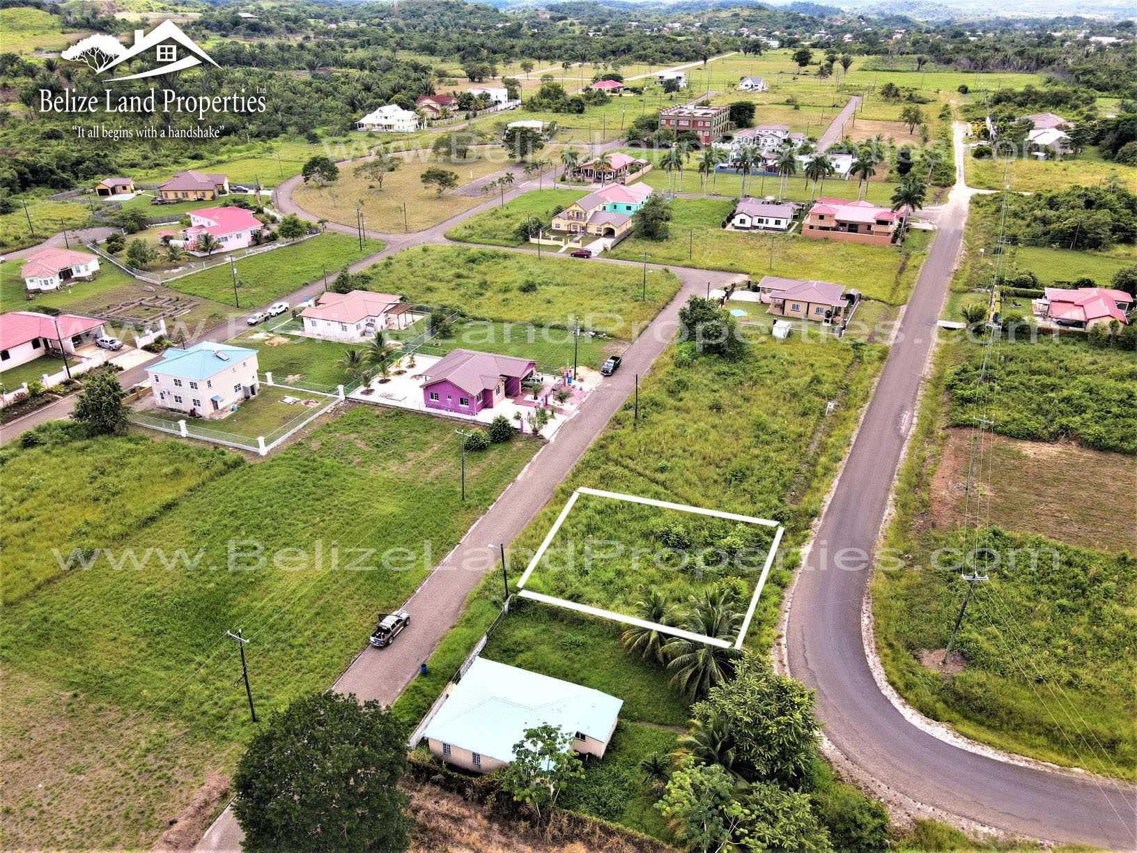 CY105: Vacant Residential Lot in Upscale Subdivision in Belmopan City, Cayo! Cayo Real Estate For Sale!