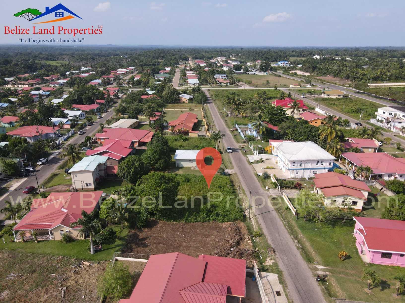 CY110: Belmopan Real Estate For Sale- 1 Residential Lot for sale along Tangelo Street, Cohune Walk, Belmopan City, Cayo!