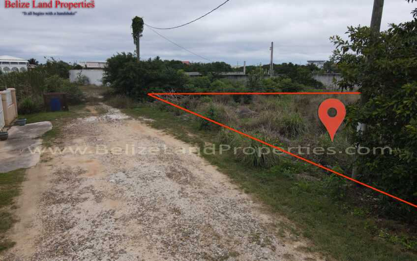 BZ160: REDUCED! Large Corner Canal Front Lot Near the Sea In Vista Del Mar, Ladyville, Belize! Belize Real Estate For Sale!